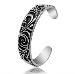 Men Bracelets Titanium Steel Fashion Jewelry Cuff Bangles pictures & photos