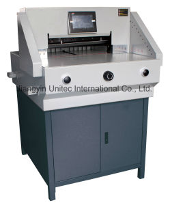 Electric Programmable-Control Paper Cutter Machine E520t/E650t pictures & photos
