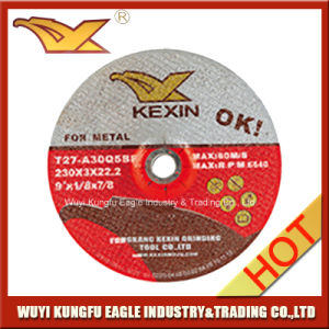 """Abrasive Grinding Disc for Steel/Metal 9""""X1/8""""X7/8"""" pictures & photos"""