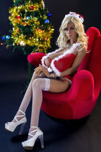 Christmas Cospaly Sexy Doll Lifelike Silicone Sex Doll Adult Doll Love Dolls for Male Doll pictures & photos