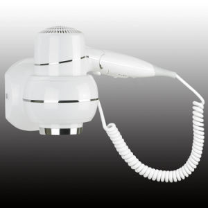Professional White Wall Mounted Hair Dryer Hotel Bathroom Hair Dryer pictures & photos