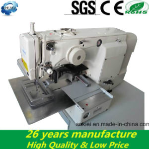 210d Flat-Bed Pattern Industrial Sewing Machine for Thick Fabric pictures & photos