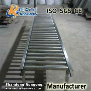 No Power Galvanized Conveyor Pulley Roller pictures & photos
