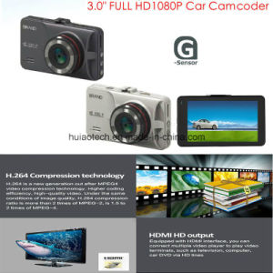 "New Full HD1080p Car Camera with 3.0"" TFT Screen, G-Sensor, 5.0mega Car Camera, 170degree View Angle, Night Vision, IR LED Car DVR-3031 pictures & photos"