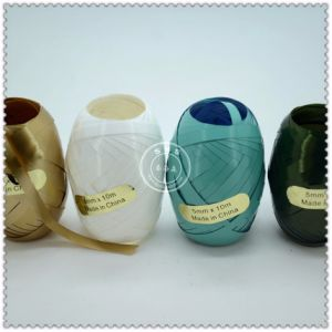 Personalized Decorative Sparkle Christmas Ribbon Egg pictures & photos