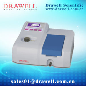 The Laboratory Single Beam Visible Spectrophotometer From Drawell Scientific pictures & photos
