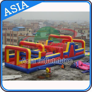 Inflatable 22′ Rock Climb Double Bay Obstacle Slide pictures & photos