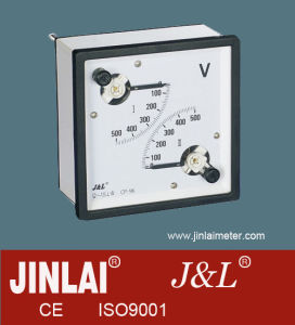 Double Movement Voltmeter with CE pictures & photos