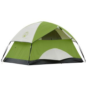 Doulbe Layer Dome 2 Person Tent Camping pictures & photos