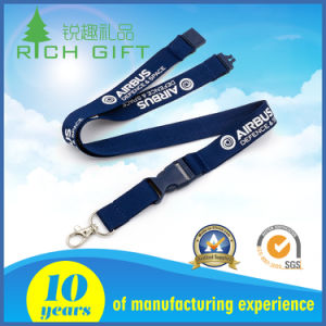 Hot Sale Printed Your Own Logo Breakaway Woven Neck Lanyard pictures & photos