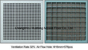 600X600mm Antistatic Access Air Flow Floor pictures & photos