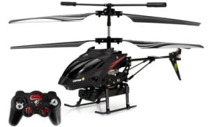 312977-3.5CH Radio RC Metal Gyro Helicopter - Black pictures & photos