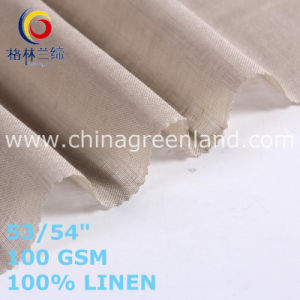 Linen Cotton Fabric for Clothes Garments Industry (GLLML470) pictures & photos