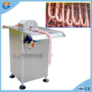 Pneumatic Semi-Automatic Sausage Knotter Knotting Bunding Linking Tying Processing Machine pictures & photos