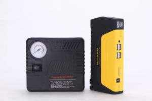 12800mAh Car Air Compressor Power Bank Emergency Car Jump Starter pictures & photos