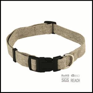 Eco-Friendly Natural Hemp Fabric Pet Dog Collar pictures & photos