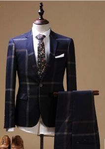Italy Style Black fashion Men′s Dress Suits pictures & photos