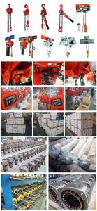 7.5 Ton Lifting Hoist Manual Chain Block with Pulley pictures & photos