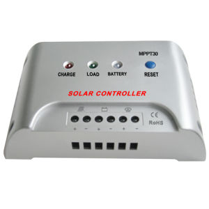 12V/24V Auto Solar Controller Intelligent MPPT Charge Controller/Regulator 20A pictures & photos