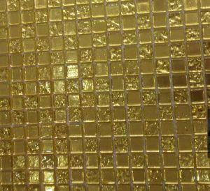 Golden Glass Mosaic for Church