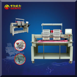 Maya Embroidery Machine Computerized 2 Head Embroidery Machine with 10 Inches Touch Screen pictures & photos