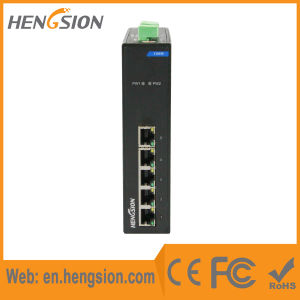 5 Megabit Tx Port Industrial Fast Ethernet Network Switch pictures & photos