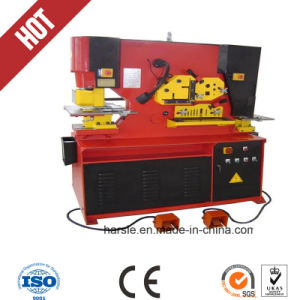 Top Quality Harsle Brand Steel Punching Machine pictures & photos