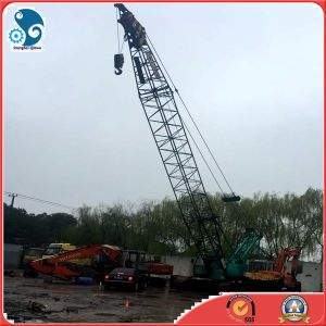 50ton Used Kobelco P&H Hydraulic transmission Crawler Crane (P&H7055) pictures & photos