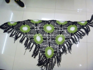 Design Custom Made to Order Hand Crocheted Knitted Scarves Shawls pictures & photos