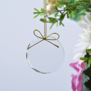 Glass Hanging Blank Christmas Ornament for Home Decor pictures & photos