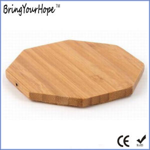 Wooden Bamboo Wireless Charger for Mobile (XH-PB-141) pictures & photos