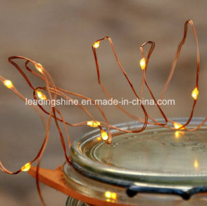20 LED Warm White Micro Battery Fairy Seed Light Garland Party Home Indoor Outdoor Decor Photo Light pictures & photos