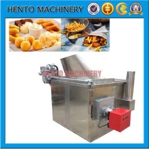 Automatic Bakery Equipment Potato Chips French Fries Deep Fryer pictures & photos