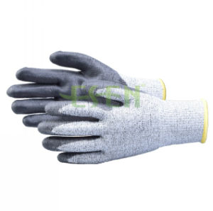 Esen Good Quality Nitrile Coated Maintenance Hand Work Gloves pictures & photos