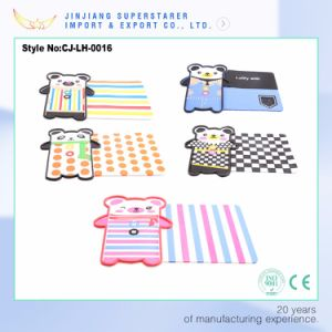 Cartoon Design Soft Anti-Skid Pad, Mini Car Home Washable Anti Slip Mat pictures & photos