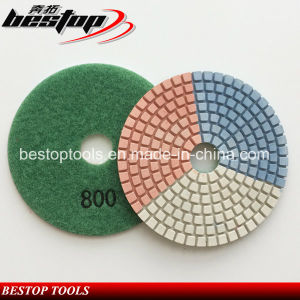 Wet/Dry Polishing Pads Granite Concrete Marble Polishing Pads pictures & photos