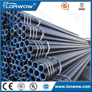 Astma53 ERW Welded Pipe Hot Dipped Gi Scaffold Tube for Sale Construction Materials pictures & photos
