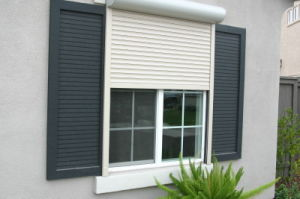 Monoblock Windows with Shutters and Mosquito Screen Sliding Window pictures & photos