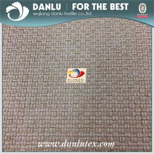 Polyester Linen Like Types of Sofa Dobby Design Material Fabric pictures & photos