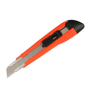 Small Size 18mm Snap-off Blade Plastic Safety Utility Cutter Knife pictures & photos