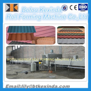 Stone Coated Roof Tile Production Line pictures & photos