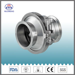 Sanitary Stainless Steel Check Valve for Pharmacy, Food and Beverage Processing pictures & photos