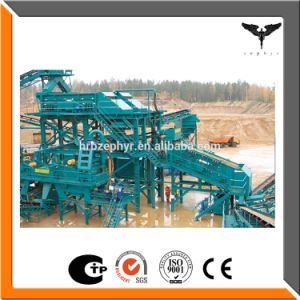 Aggregate Crushing Plant with Road Construction Project pictures & photos