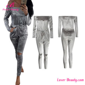 Winter Sliver Long Pant Romper Jumpsuit pictures & photos