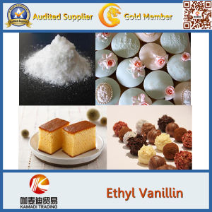 Natural Ethyl Vanillin & Vanillin Powder pictures & photos