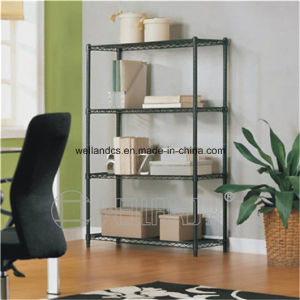 DIY 4 Layers Metal Office Wire File Storage Rack with High Quality pictures & photos
