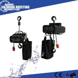 China Manufacturer Competive Price 1.5ton Stage Electric Hoist