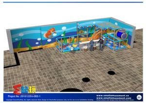 Submarine Combination Indoor Playground for Baby pictures & photos