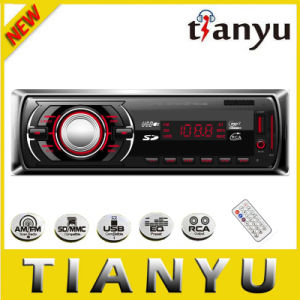 Fixed Panel Car Audio with LED Screen and MP3 Player pictures & photos