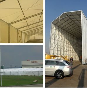 Waterproof Heavy Duty Warehouse Storage Tent for Yacht Boat pictures & photos